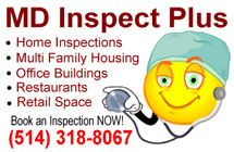 MD Inspect Plus -Residential home and commercial building inspections, pre-purchase, pre-listing inspections, infrared thermograph scans